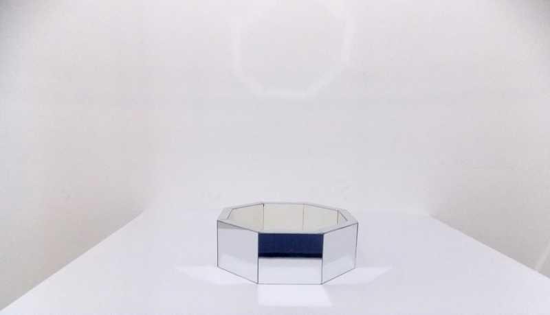 Chachepo espelhado octogonal